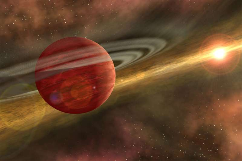 Scientists discover the nearest-known 'baby giant planet'