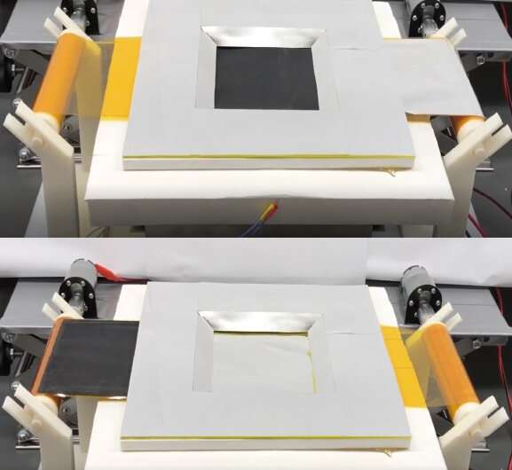 Nanomaterials enable dual-mode heating and cooling device