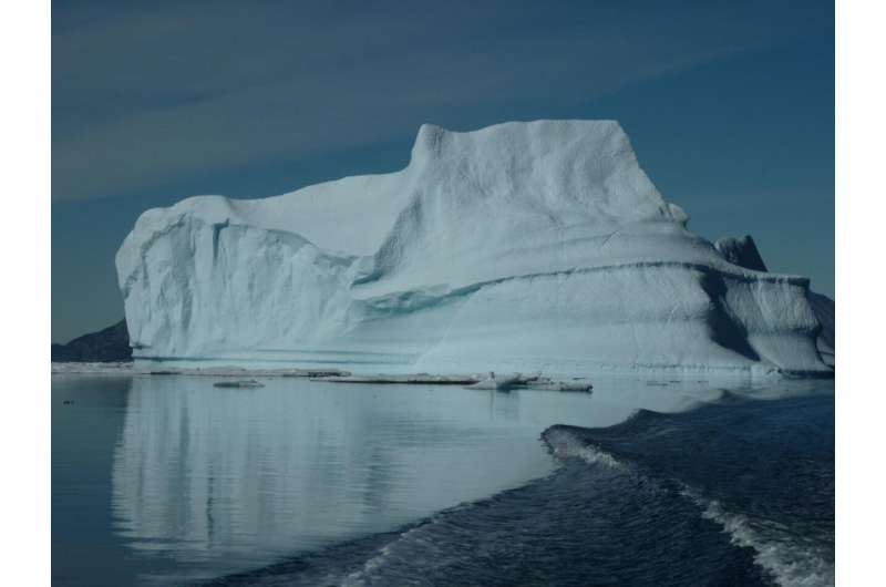 New research reveals effect of global warming on Greenland ice melt