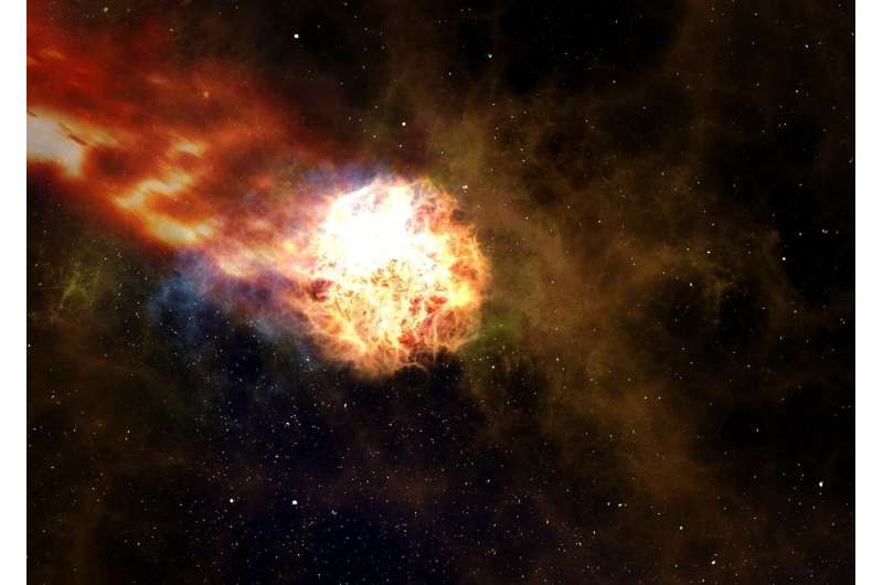 Scientists reveal new insights of exploding massive stars and future gravitational-wave detectors