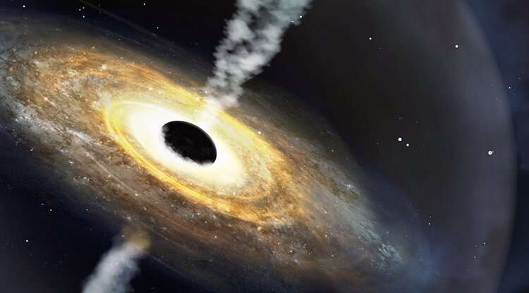 Astronomers discover 'monster' quasar from early universe