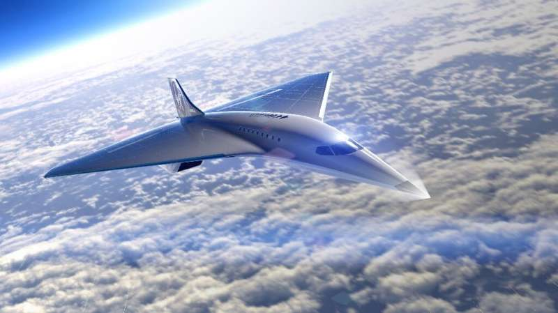 Virgin Galactic unveiled its design for a supersonic aircraft and announced a partnership with Rolls-Royce to build the engine