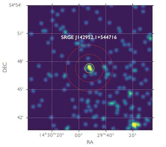 Astronomers discover the most X-ray luminous high-redshift quasar