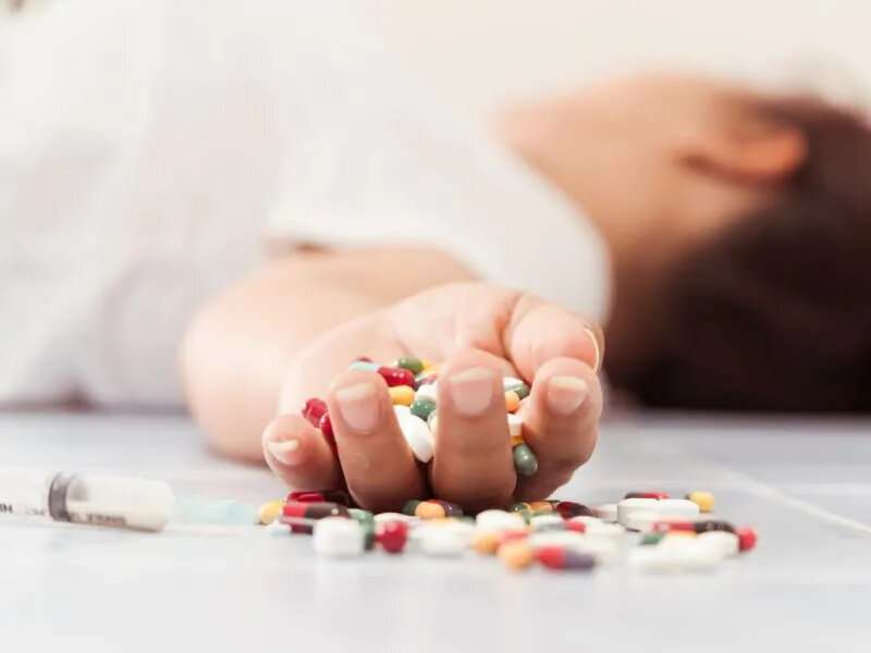 1 in 4 opioid ODs involves kids and teens