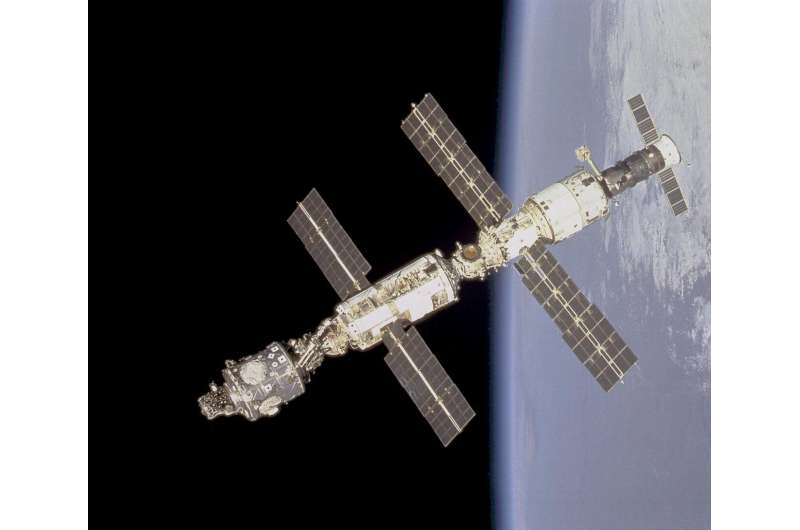 1ST reported occurrence & treatment of spaceflight medical risk 200+ miles above earth