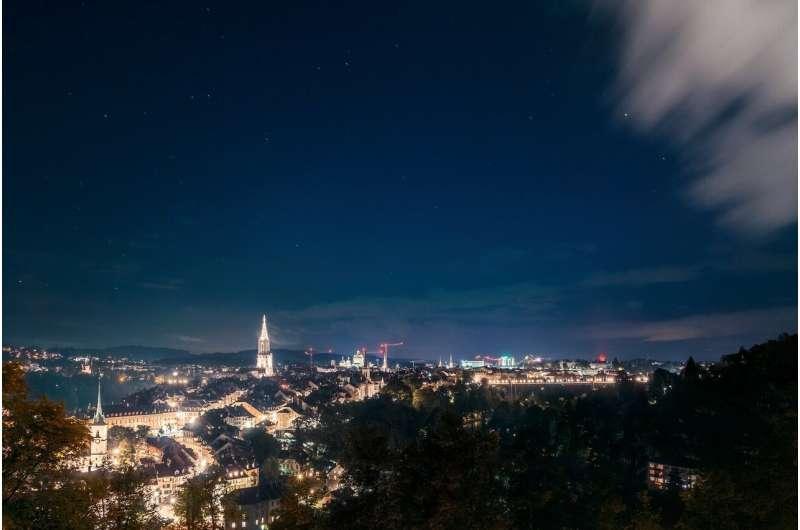 Artificial night-time lighting