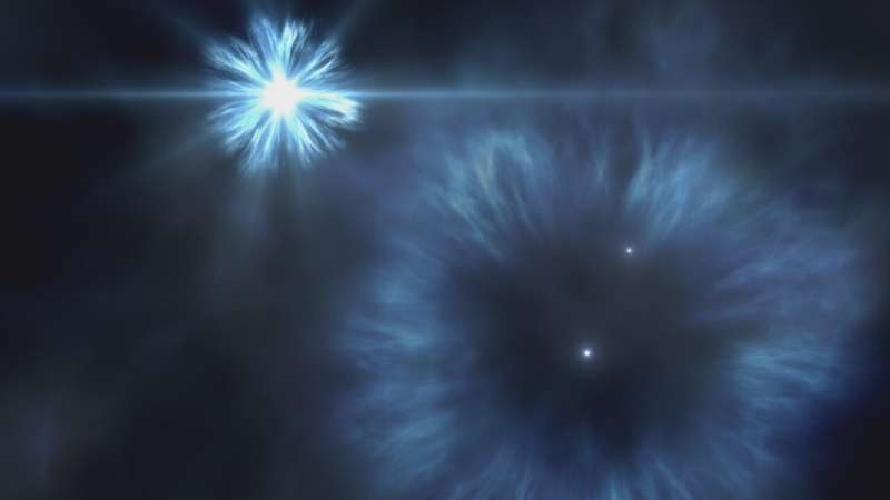 Astronomers detect large amounts of oxygen in ancient star's atmosphere