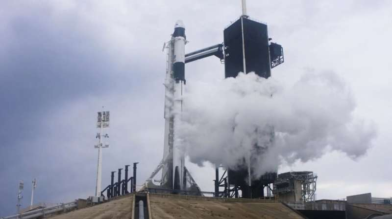 'Bummed out': SpaceX launch scrubbed because of bad weather