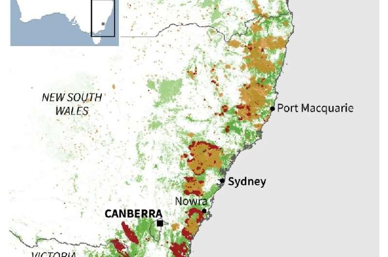 Catastrophic bushfires in Australia