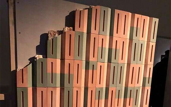 Ceramic skins insulate and protect city buildings and inhabitants