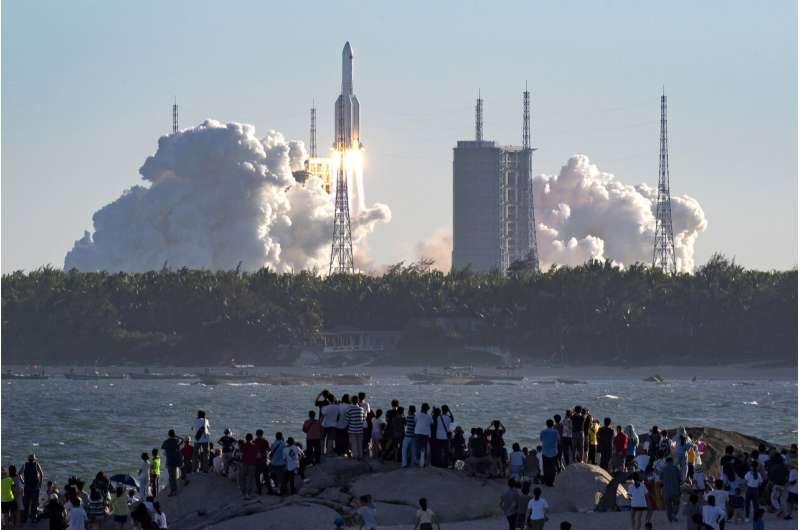 China plans to complete space station by 2022