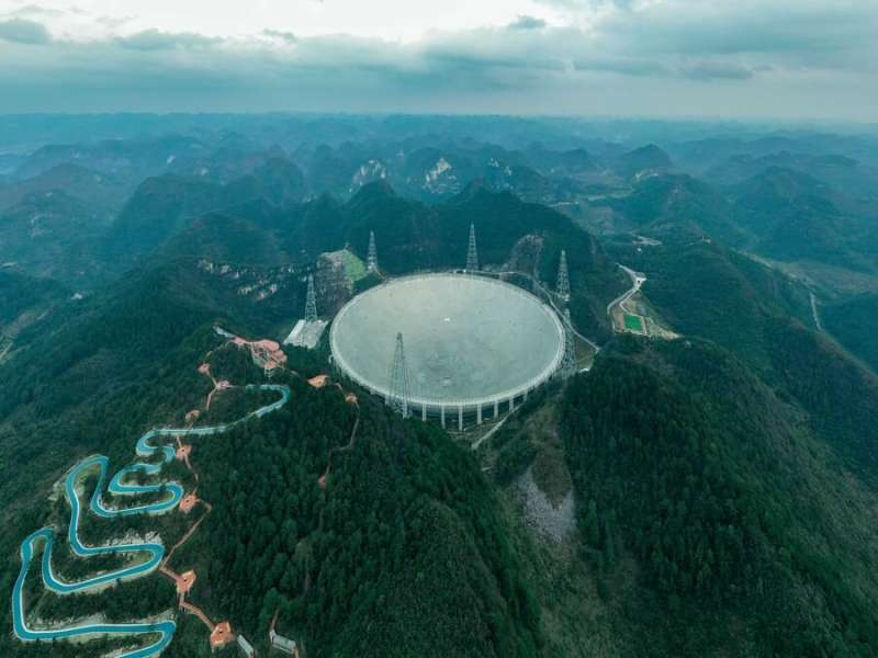 China's 500-meter FAST radio telescope is now operational