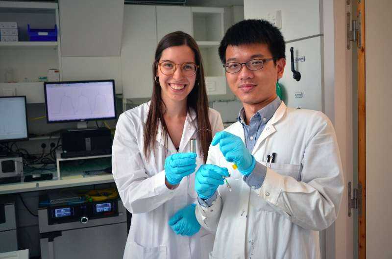 Commercial Na(Li)-ion cells that can monitor their own chemical and thermal state
