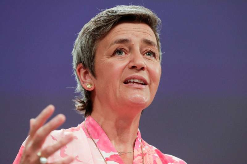 """EU competition commissioner Margrethe Vestager said the fight against profit-shifting by big tech was a """"marathon... on hil"""