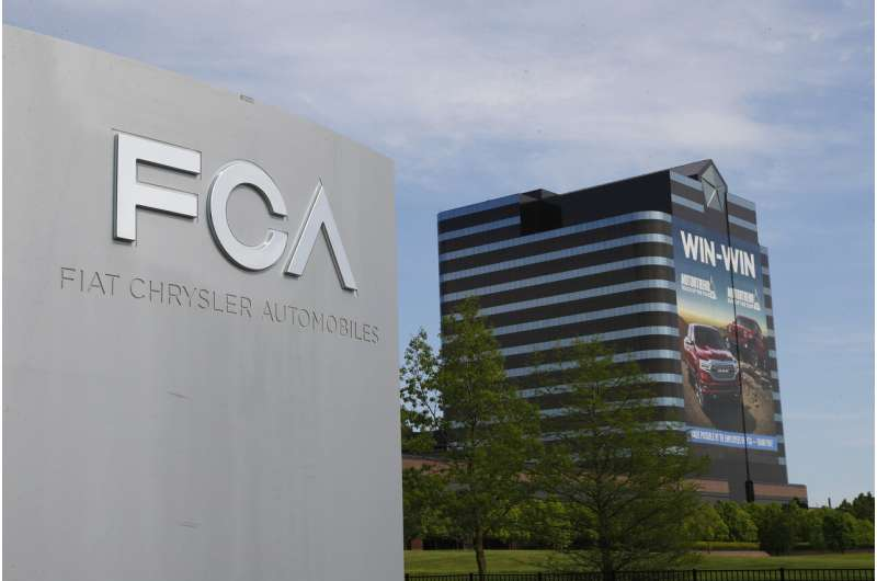 Fiat Chrysler posts smaller-than-expected loss despite virus