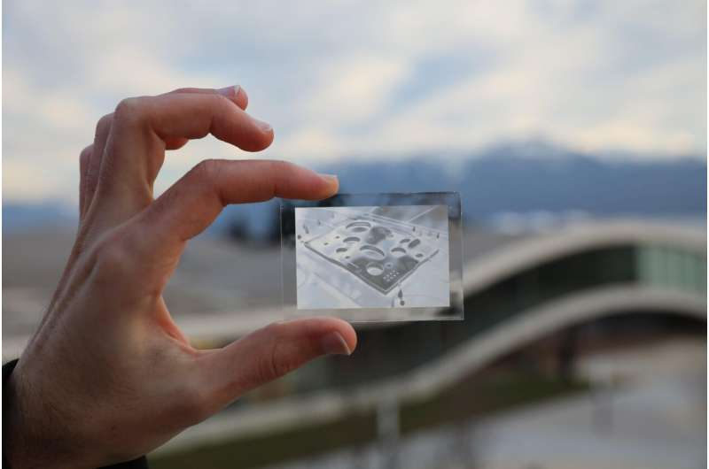 Harnessing the moiré effect to make transparent images
