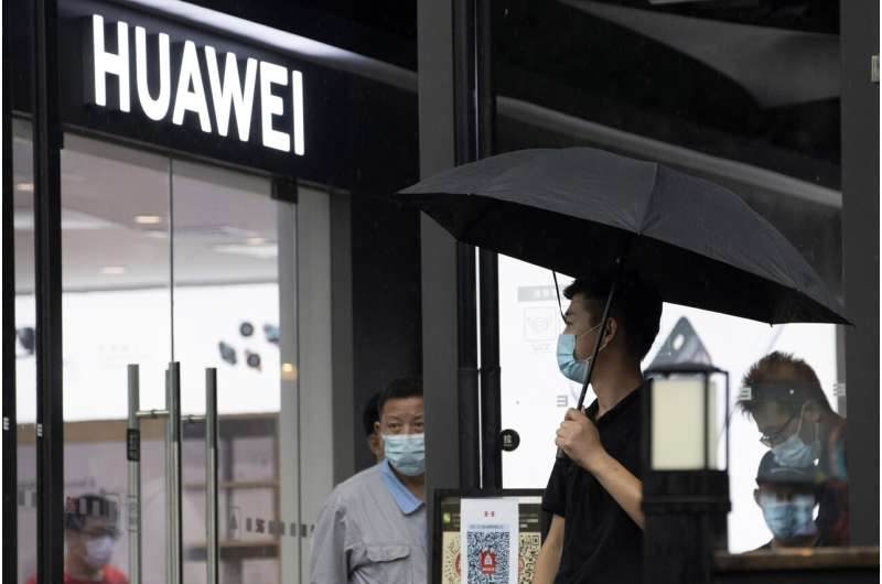 Huawei, long resilient, suffers under tougher US pressure