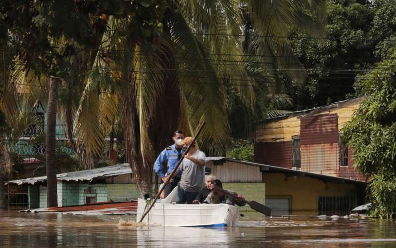 Hurricane Iota now a Category 5 storm near Central America