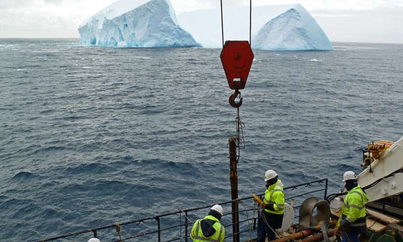 Ice sheets on the move: how north and south poles connect