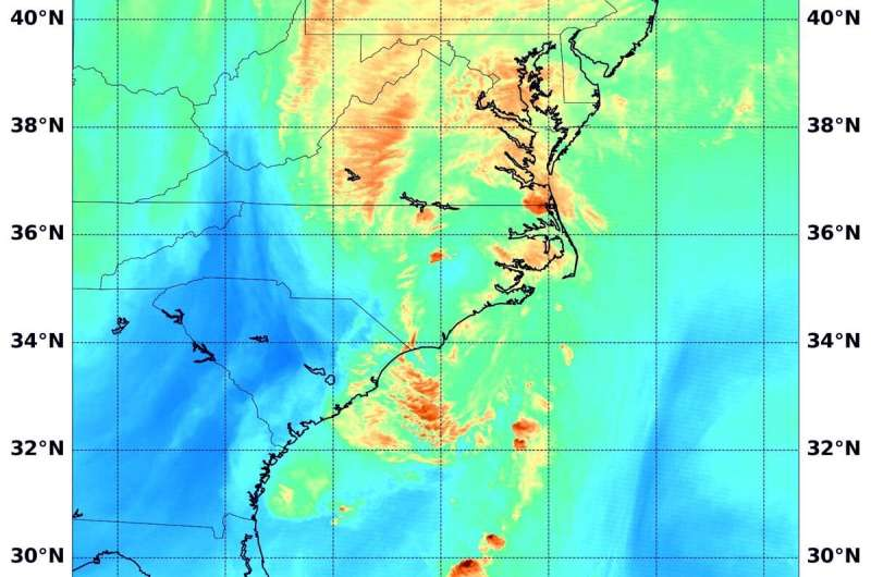 NASA providing data on Tropical Storm Isaias as it blankets eastern seaboard