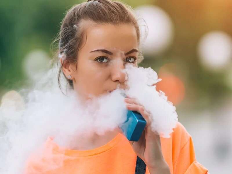 Nearly half of U.S. teens who vape want to quit