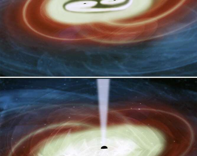 New research hints at the presence of unconventional galaxies containing two black holes