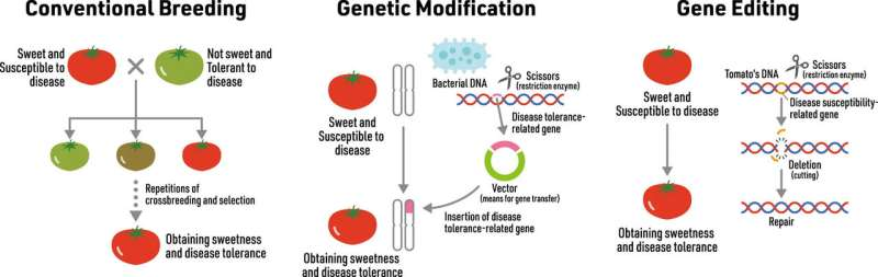 New survey results reveal the experts and public's attitude towards gene-edited crops