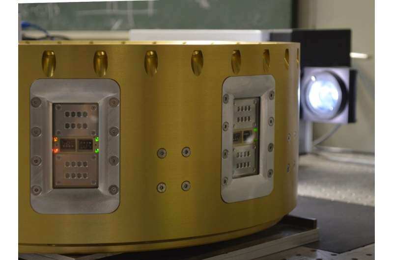 Perovskite and organic solar cells rocketed into space