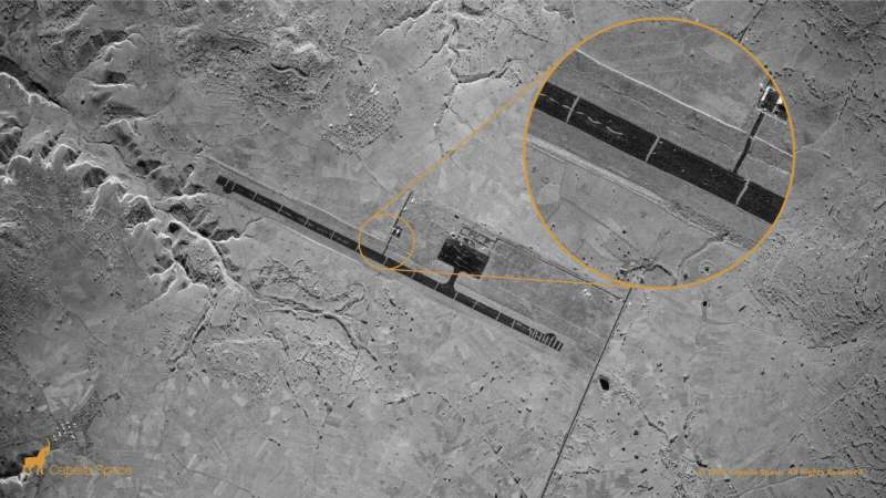 Satellite uses SAR imagery to capture world's sharpest images
