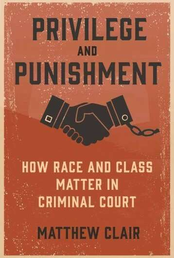 Sociologist details how, why privilege plays role in criminal courts