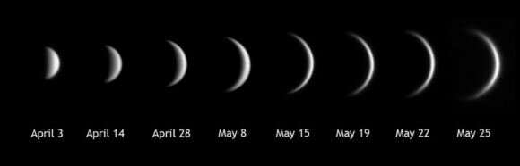 Spying a rare 'Ring of fire' around Venus at inferior conjunction