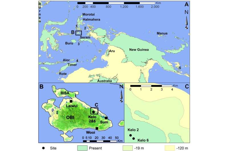 Stone tools reveal how island-hopping humans made a living