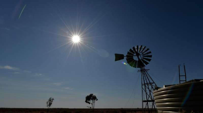 The Australia Institute said large swathes of the country were experiencing an additional 31 days of summer temperatures each ye