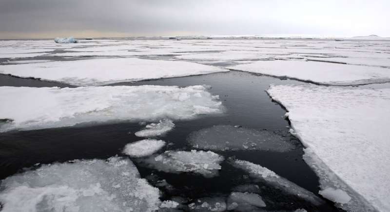 The climate changed rapidly alongside sea ice decline in the north