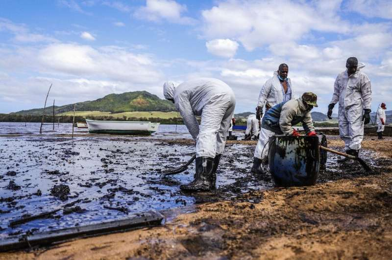 Thousands of volunteers, many smeared head-to-toe in black sludge, have marshalled along the coastline in a desperate attempt to