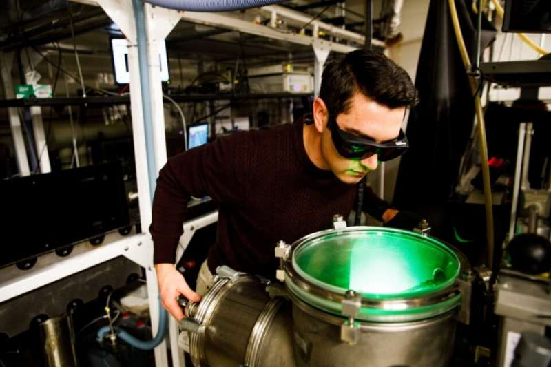 Ultrafast laser experiments pave way to better industrial catalysts