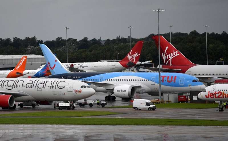 Virgin Atlantic stopped flying its planes in April because of coronavirus