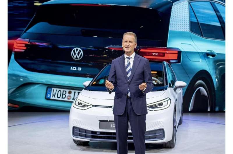 Volkswagen CEO Herbert Diess giving up managing VW brand