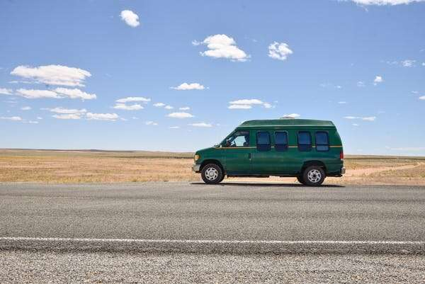 Why some workers are opting to live in their vans