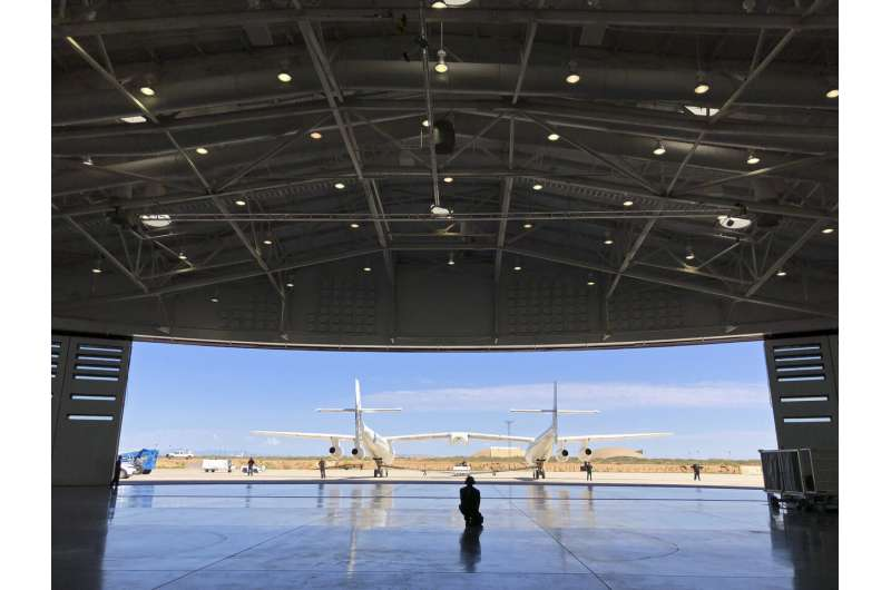 Window opens for Virgin Galactic test flight from spaceport
