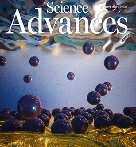 Nanoparticle jamming at the water-oil interface