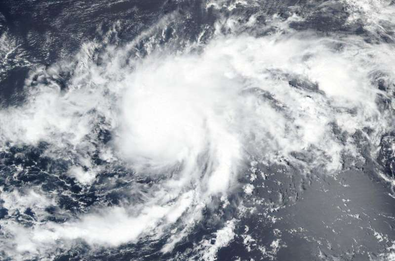 NASA-NOAA satellite tracking record-breaking Tropical Storm Paulette