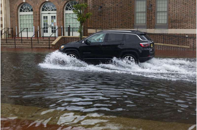 Tropical Storm Fay weakens after New Jersey landfall