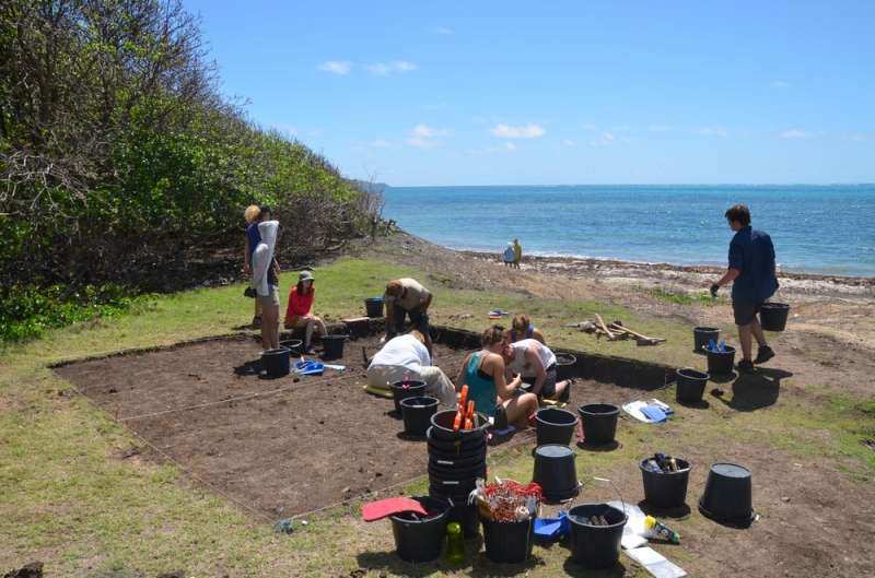 Archaeologists determined the step-by-step path taken by the first people to settle the Caribbean islands
