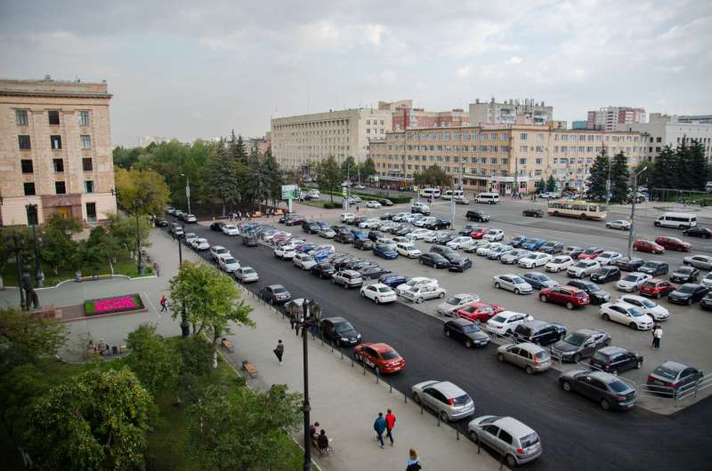 Scientists Create an Application for Finding Parking Spaces
