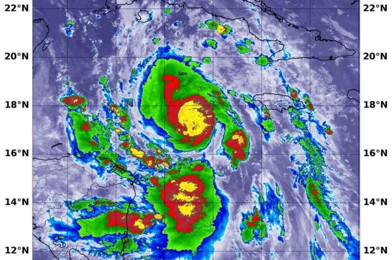 NASA-NOAA satellite finds Hurricane Delta rapidly intensifying