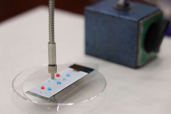 Research team invents novel light-controlled contamination-free fluidic processor