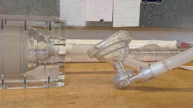Scientists develop prototype for rapidly deployable ventilator