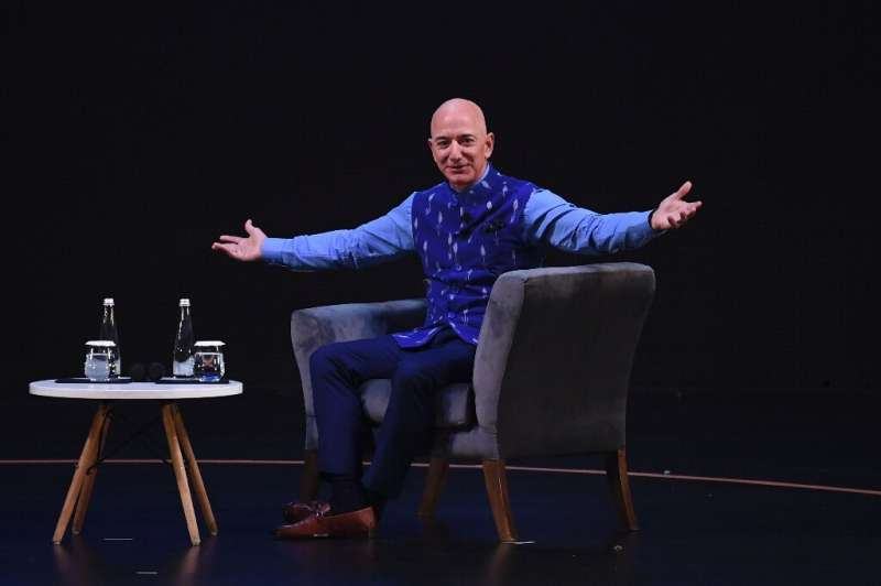 Amazon CEO Jeff Bezos (pictured January 2020) announced in 2018 the creation of a philanthropic fund to help homeless families a