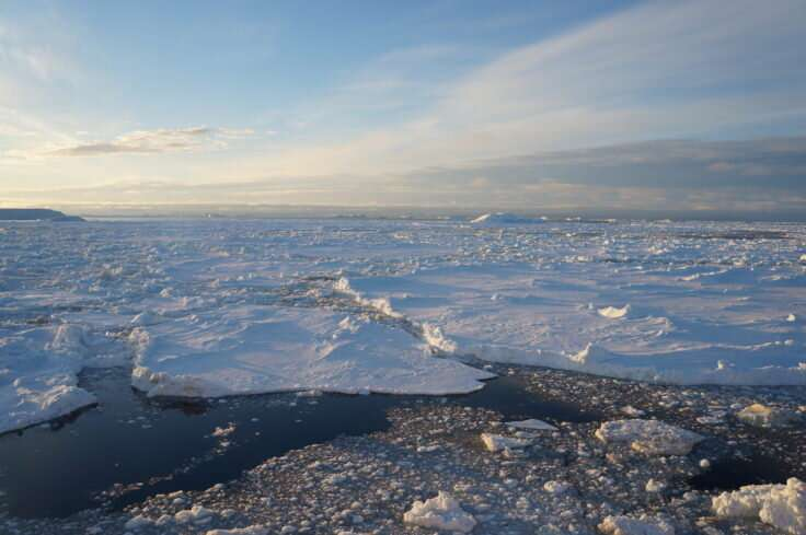 Antarctic sea ice loss explained in new study